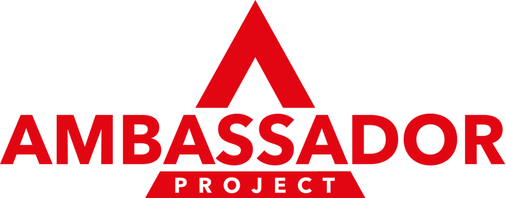 Ambassador project logo in triangle red.png